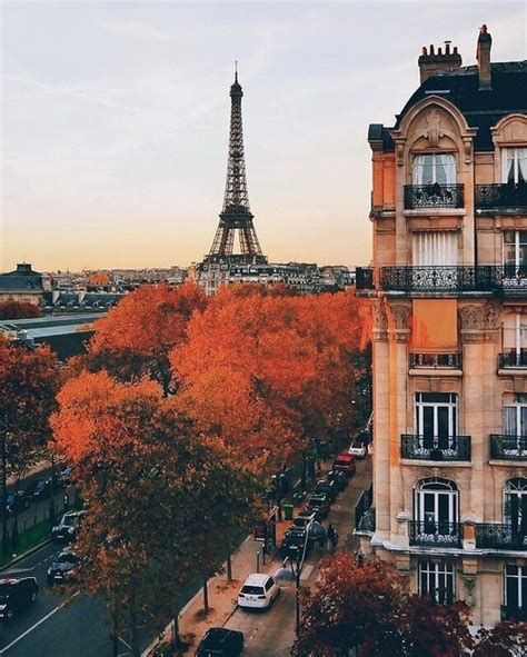 Eiffel Tower Sunset Tumblr