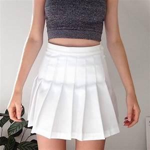 Skirt: shirt, white skirt, fashion, grunge, white dress ...