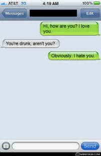 Funny Drunk Text Messages