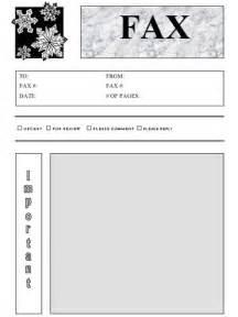 Free Printable Fax Cover Sheet PDF