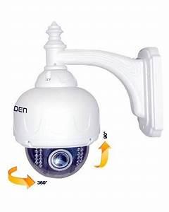 Camera Dome Exterieur : achat vente heden cam ra d me d 39 ext rieur motoris e ip ~ Edinachiropracticcenter.com Idées de Décoration