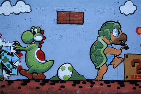 Graffiti Mario : Graffitis De Mario Bros