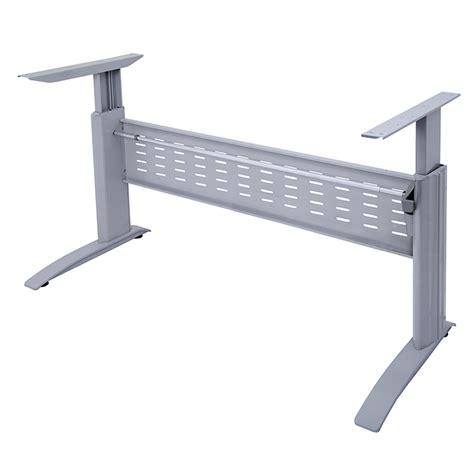 height adjustable desk frame only space system electric height adjustable desk frame no