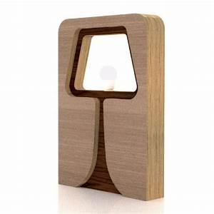 Lampe Bois Design : osborne lampe d 39 ambiance en bois design ~ Teatrodelosmanantiales.com Idées de Décoration
