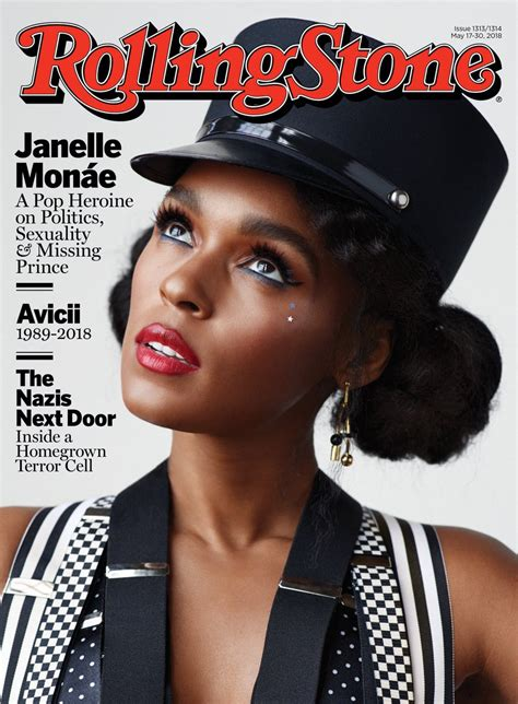 Janelle Monae Comes Out As Queer In Rolling Stone Magazine ...