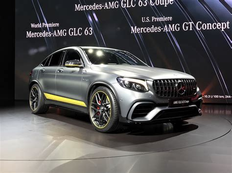 nyias mercedes amg glc  glc coupe announced