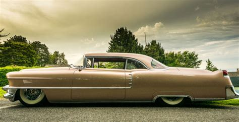 Long Low Wide Chopped Cadillac Deville Sled Bring A Trailer