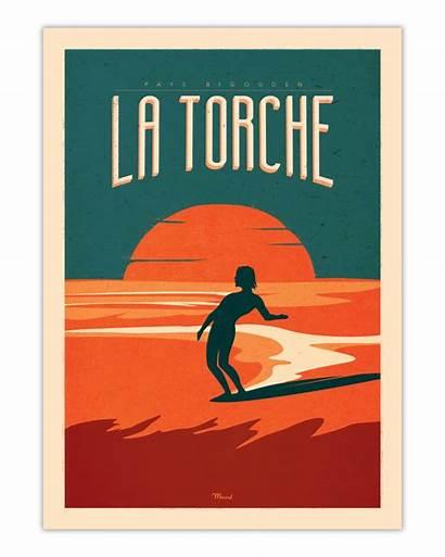 Torche Poster Surfing Marcel