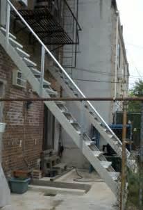 Outdoor Steel Stairs