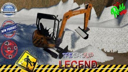 fs nomad mini excavator curage  simulator games mods