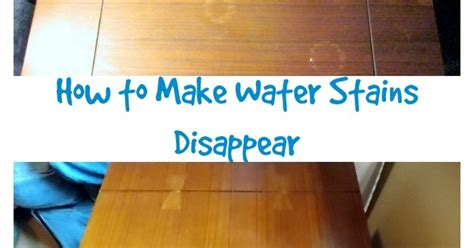 remove water stains  wood hometalk