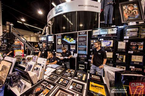 star wars celebration anaheim  prop store exhibitor booth