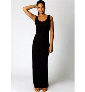 sleeveless scoop neck long maxi dress n9020