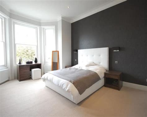 photo  cool black white white leather bedroom