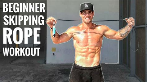 Beginner Skipping Rope Workout For Fat Loss Youtube
