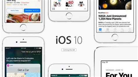iOS 10 coming to your iPhone and iPad later this year ...