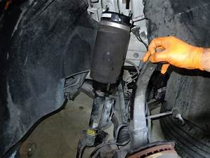 Mercedes Air Suspension Strut Airbag Replacement Diy  U2013 Mb Medic