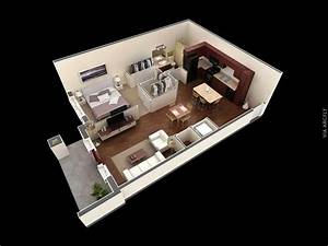 40, Awesome, 3d, Apartment, House, Plans