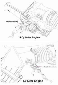 P1101 2009 Ford F150 Mass Air Flow Sensor Out Of Self