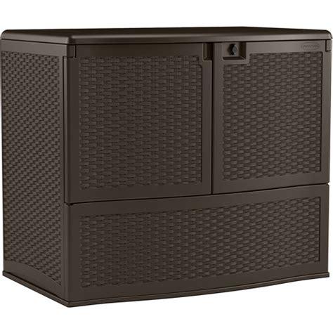 suncast calypso vertical deck box java walmart