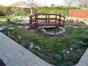 deco jardin petit pont de bois With pont pour bassin de jardin 9 terrasse et jardin en 105 photos fascinantes pour vous