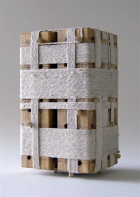 twin towers  unused architectural concept model