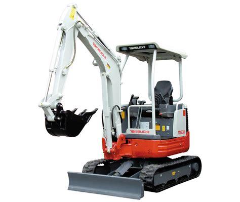 takeuchi tbr compact tailswing mini excavator