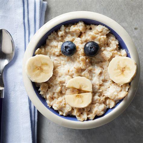 silly monkey oatmeal bowl recipe eatingwell