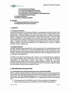 funding proposal template best professional templates With proposal template for funding request