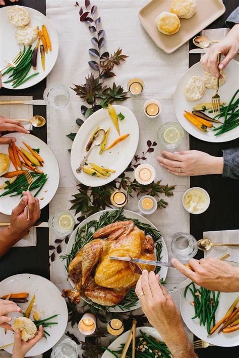 Modern Thanksgiving Dinner - Camille Styles