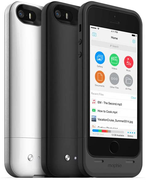 iphone 5 storage mophie space pack review 16gb 32gb battery storage