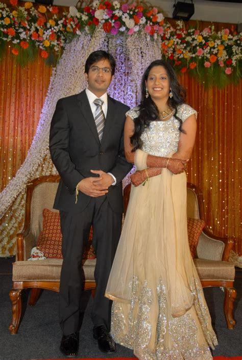 koolstills jaya sudhas sister daughter wedding reception