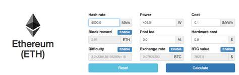 eth mining calculator how to mine ethereum mining and profitability crypto