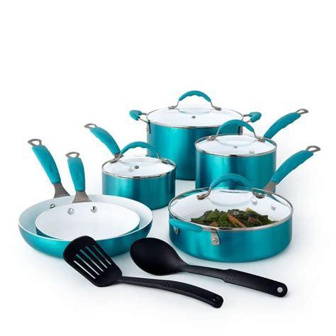 cooks copper  pc ceramic cookware set ceramic cookware set cookware set ceramic cookware