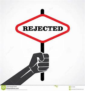 Rejected Banner Royalty Free Stock Photo - Image: 33128085