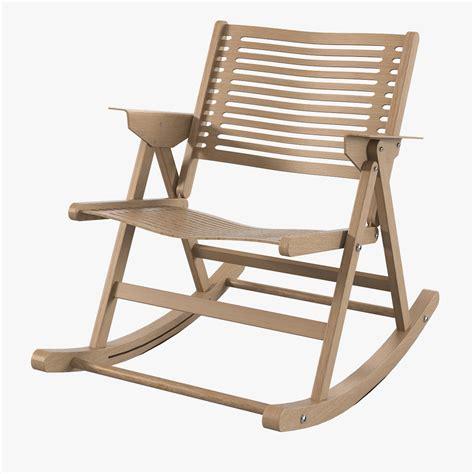 folding rocking c chairs 3d rex folding rocker model