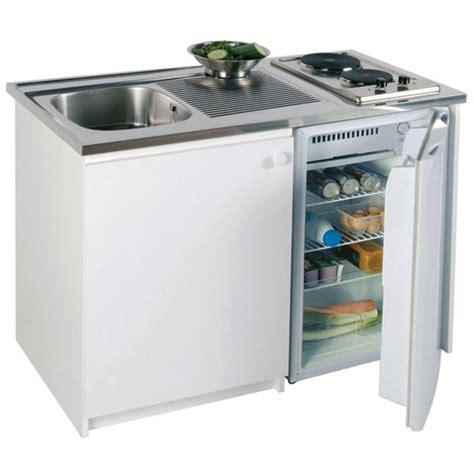 bloc cuisine evier frigo plaque kitchenette 120 x 60 cm achat vente cuisinette