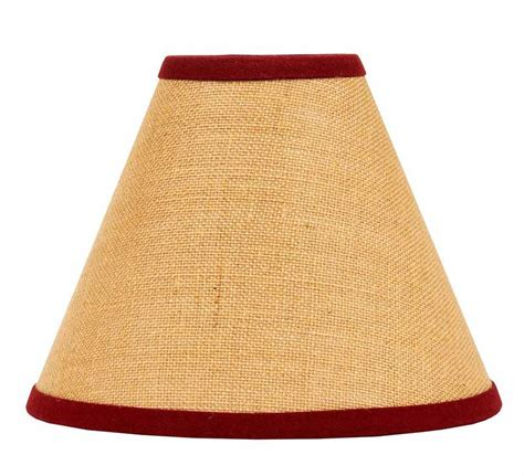 10 inch clip on l shade 10 inch burlap red l shade by raghu the weed patch