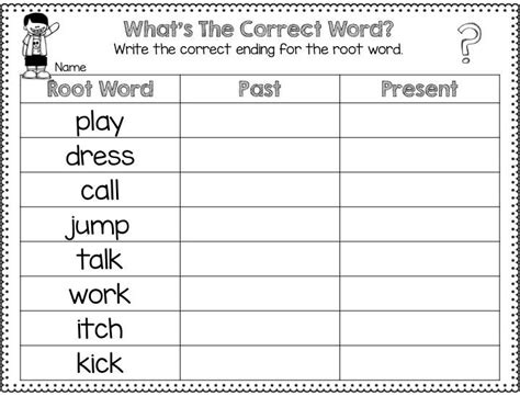 the past present and future timelines root words