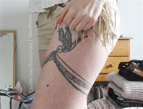tatouage femme cuisse tatouage femme cuisse jarreti 232 re