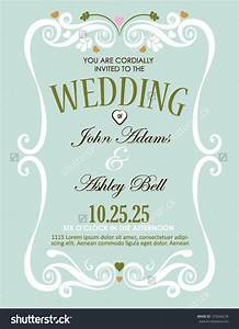 elegant wedding invitation designs wedding invitation card With elegant wedding invitations eps