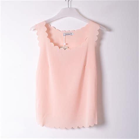 light pink tank top aliexpress com buy see through tank tops blusas blouse