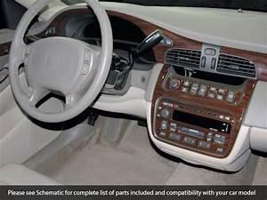 Premium Wood Dash Trim Kit 34 Pcs Fits Cadillac Deville