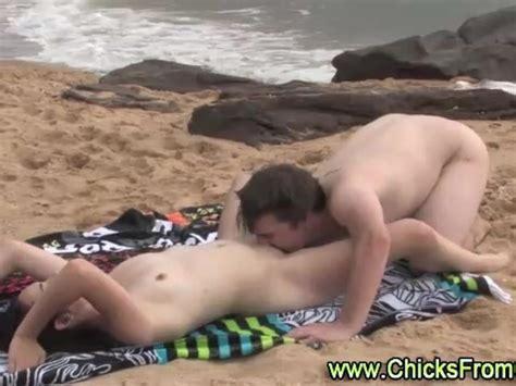 Australian Amateurs Have Sex On Public Beach Free Porn