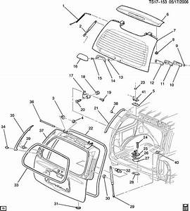 Gmc Envoy Body Parts Diagram