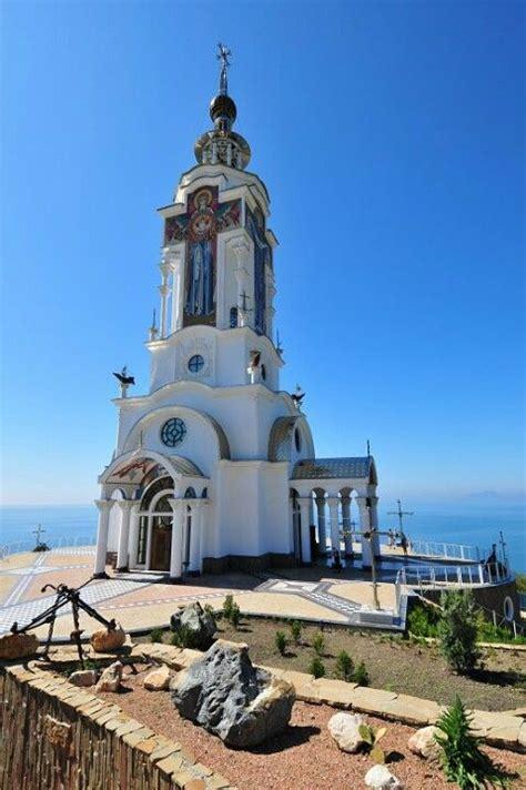 light house church lighthouse church on the shores of the black sea ukraine