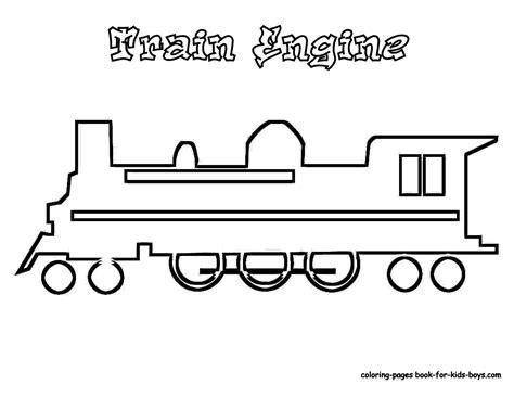 Steel Wheels Train Coloring Sheet Yescoloring Free