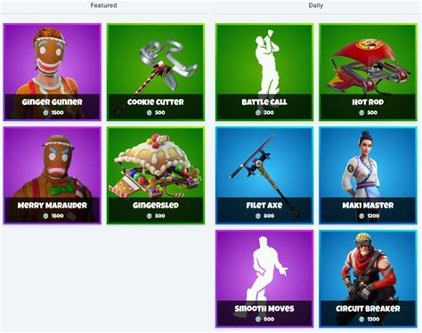 fortnite item shop  december  grimbles fortnite