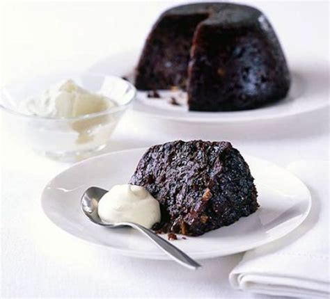 guinness pudding  whisky cream recipe bbc good food