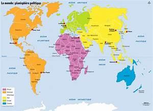Carte Du Monde Metallique : carte du monde imprimer voyages cartes ~ Teatrodelosmanantiales.com Idées de Décoration